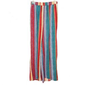 Sage the Label Multicolor Split Leg Lounge Pant